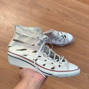 Chuck Taylor Hi-Ness Cutout Wedge Sneaker